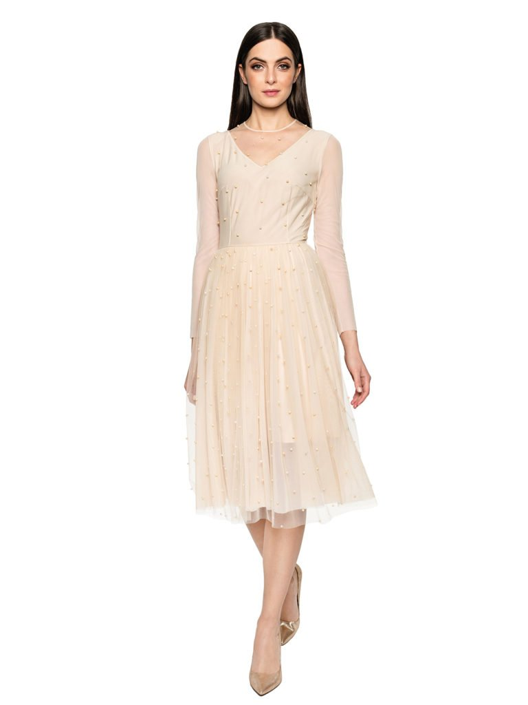 Dress CINDERELLA beige