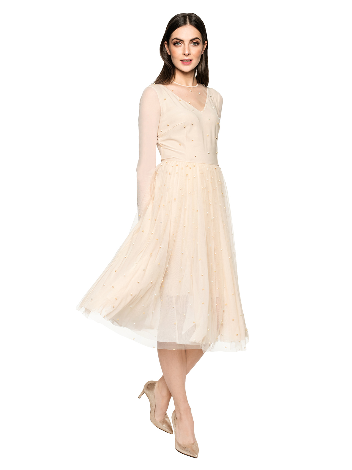Dress CINDERELLA beige