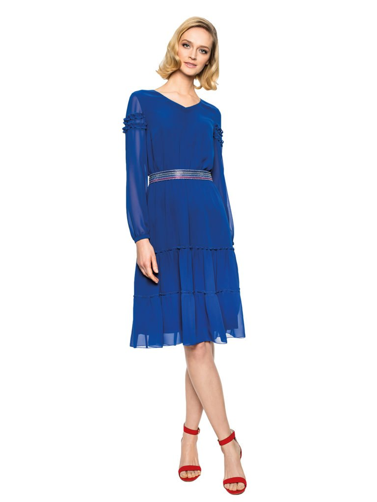 Dress ELECTRA blue