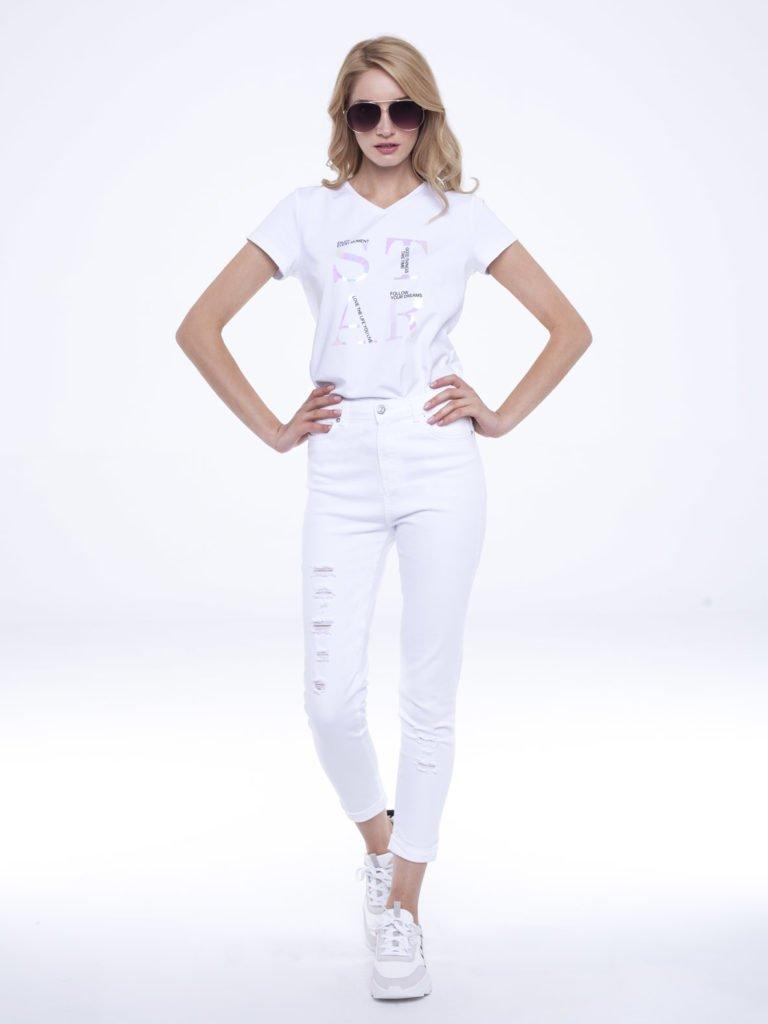 Jeans Nomi white