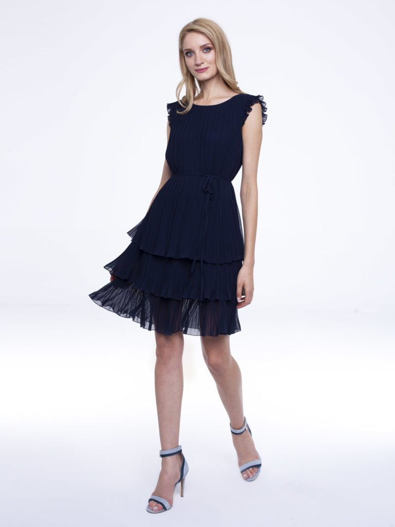 Dress Susan navy blue