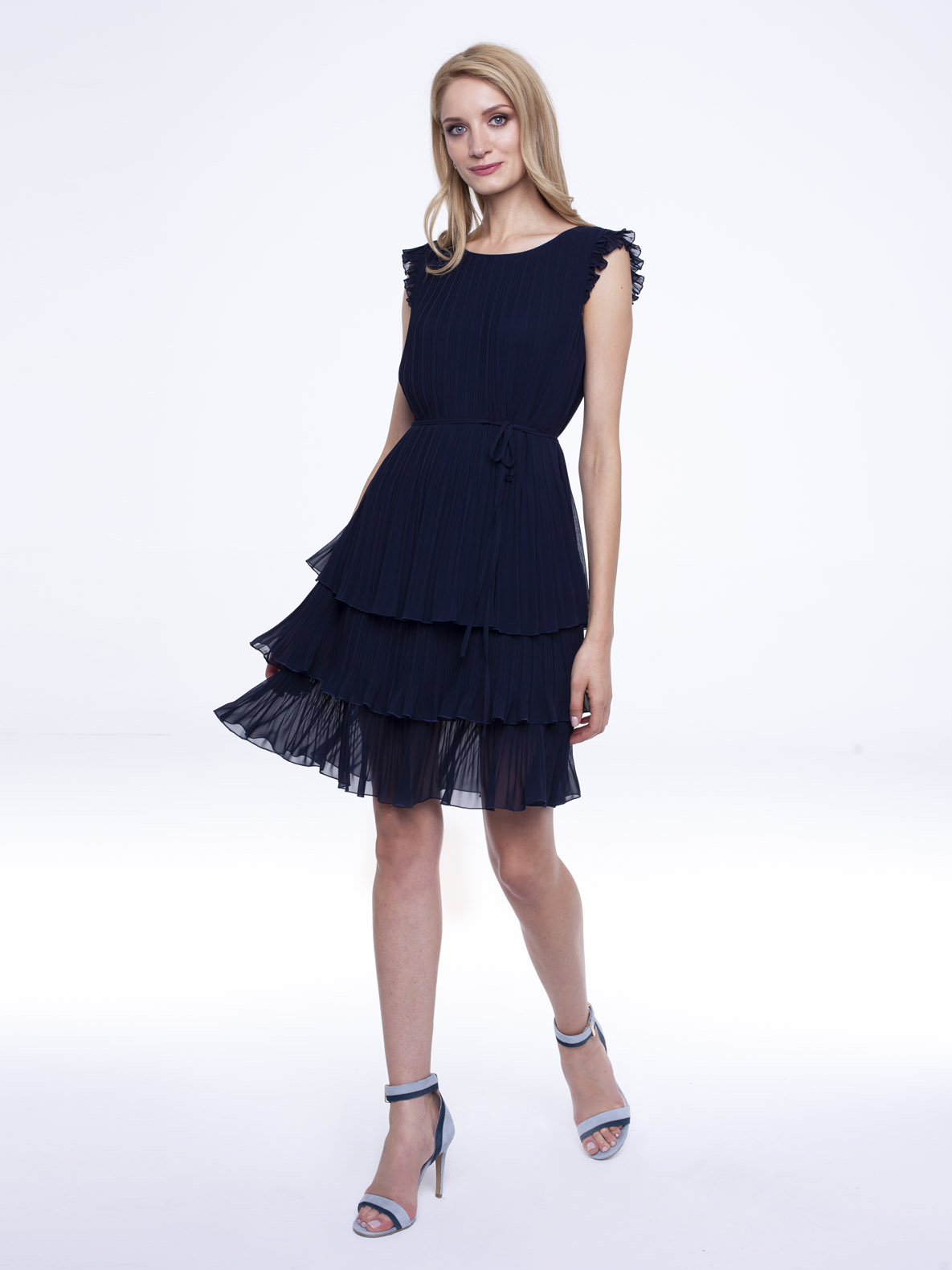 Dress Susan navy blue