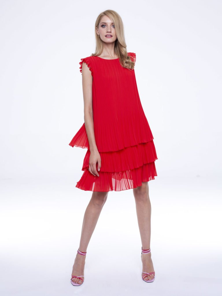 Dress Susan red