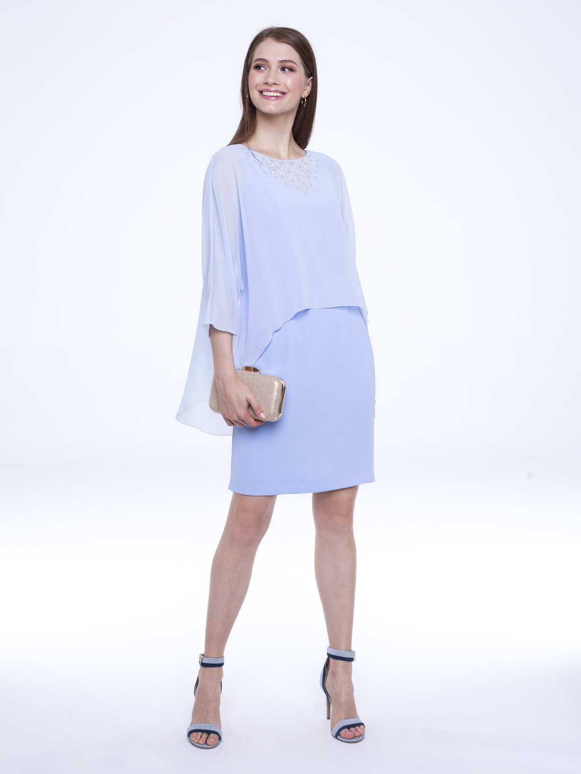 Dress Irina blue