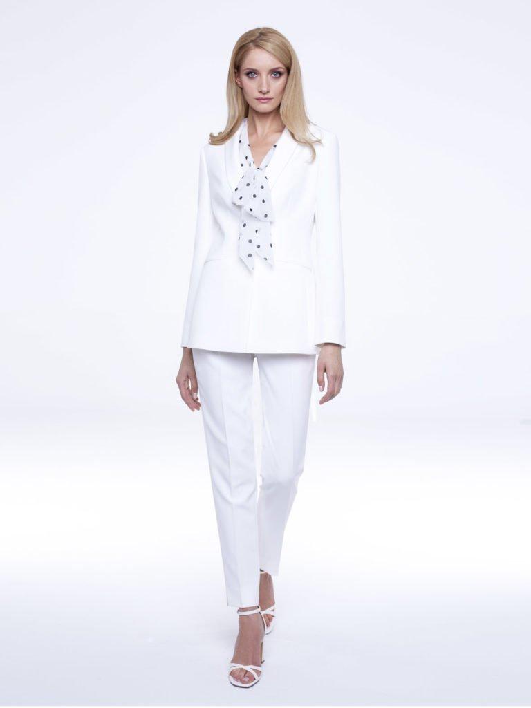 Jacket Peony white