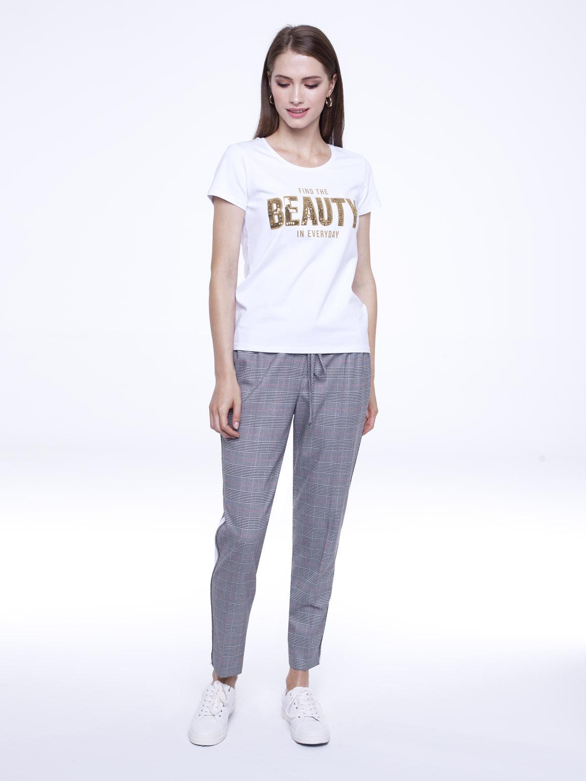 T-shirt She white