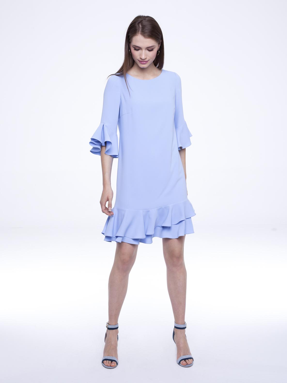 Dress Uma blue