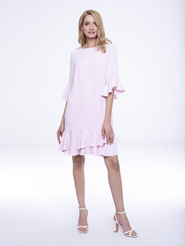 Dress Uma pink