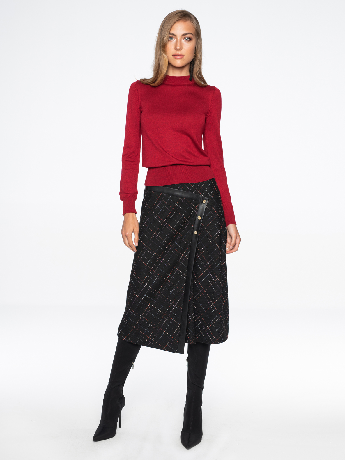 Sweater Donna red
