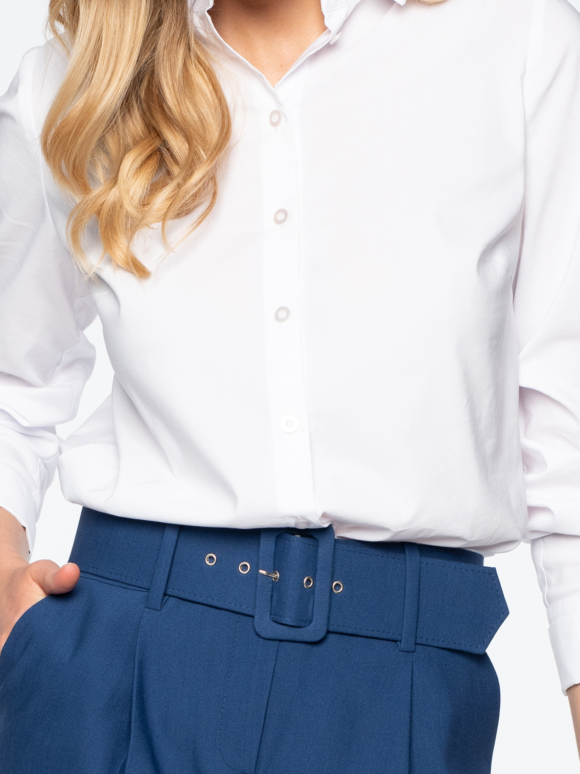 Trousers Mocca blue