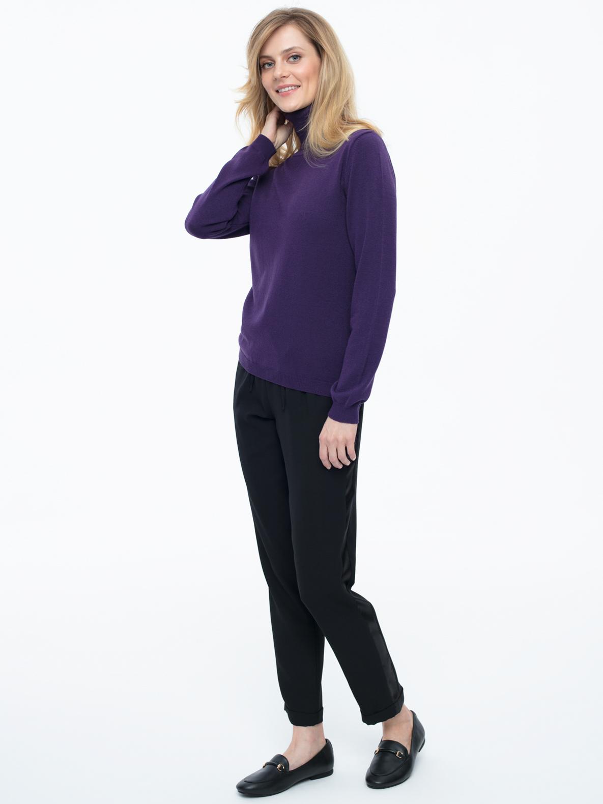 Turtleneck Grand violet