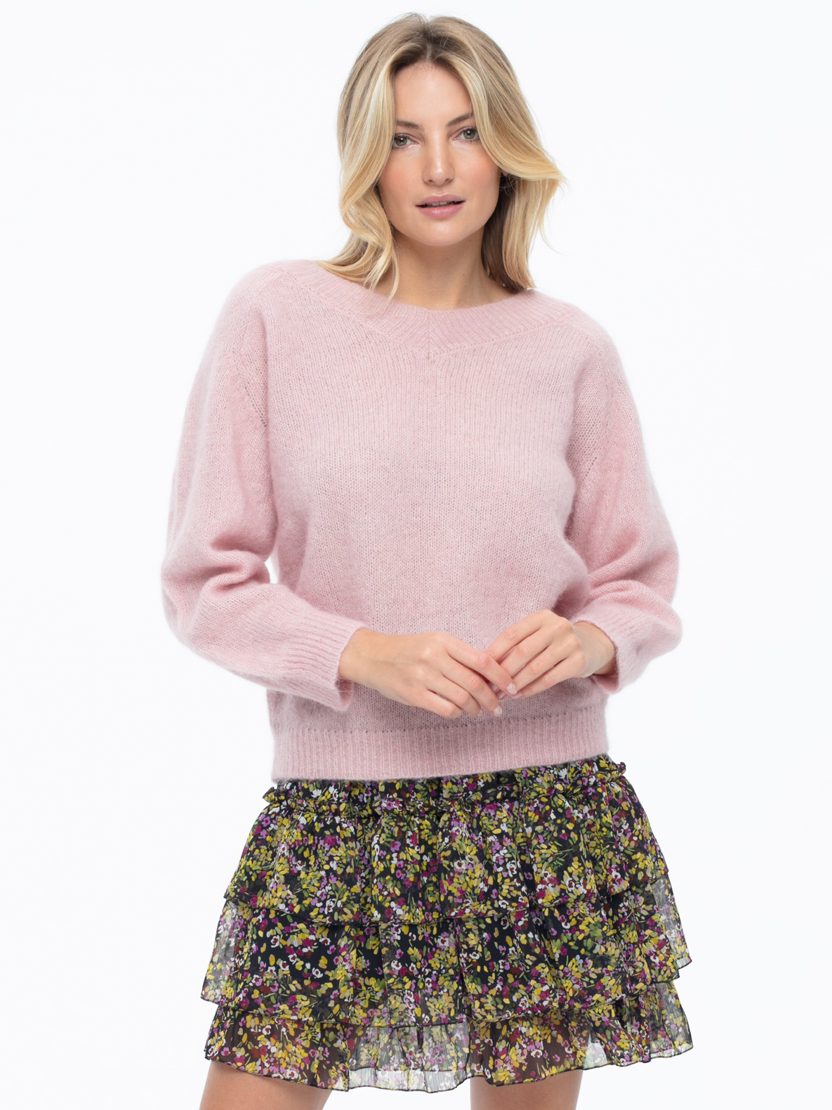 Sweater Oscar pink
